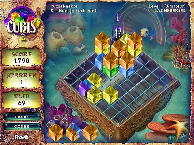 Spel Screenshot 2 Cubis Gold 2