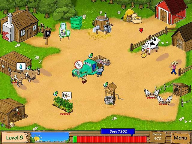 Spel Screenshot 1 Dairy Dash