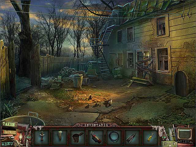 Spel Screenshot 1 Dark Alleys: Motel Penumbra