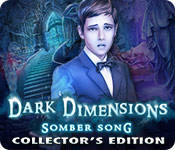 Feature Screenshot Spel Dark Dimensions: Somber Song Collector's Edition