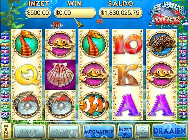 Spel Screenshot 1 Dolphins Dice Slots