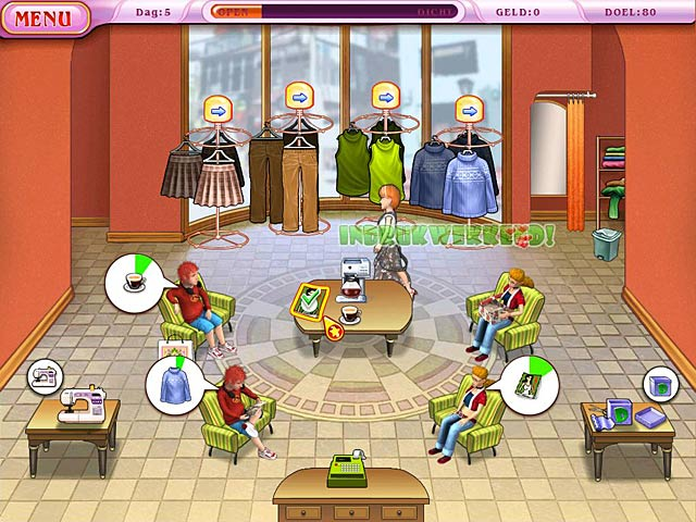 Spel Screenshot 1 Dress Up Rush