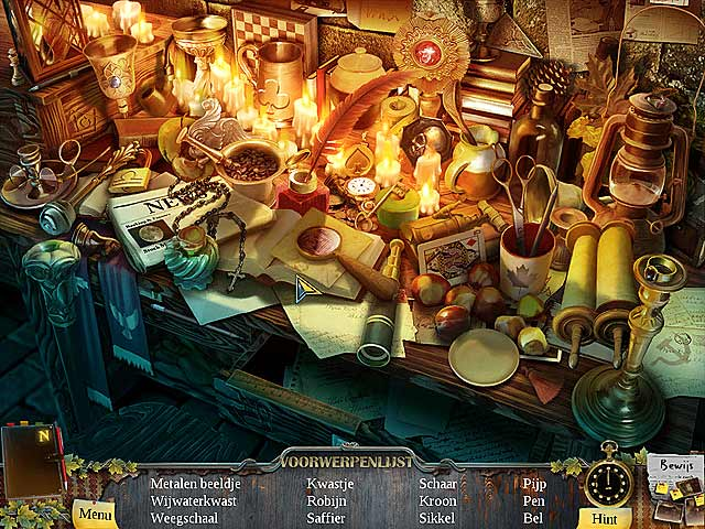 Spel Screenshot 2 Enigmatis: De Geesten van Maple Creek