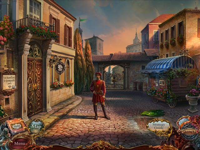 Spel Screenshot 2 European Mystery: The Face of Envy Collector's Edition