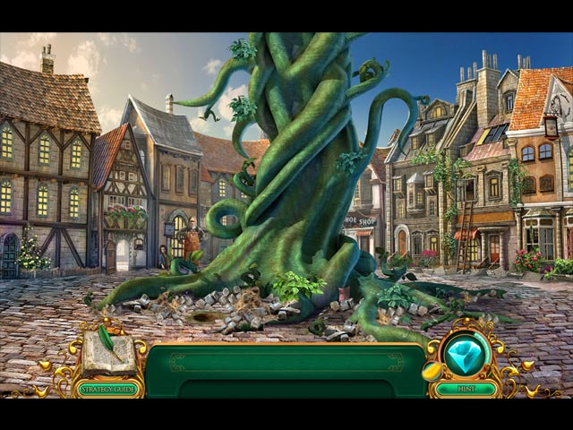 Spel Screenshot 1 Fairy Tale Mysteries: The Beanstalk Collector's Edition