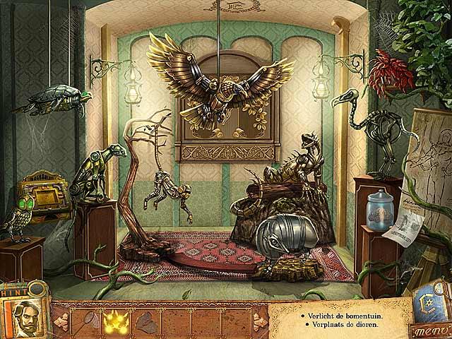 Spel Screenshot 2 Fantastic Creations: Het Koperen Huis