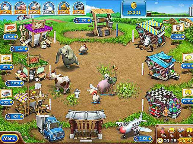 Spel Screenshot 2 Farm Frenzy 2