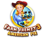 Feature Screenshot Spel Farm Frenzy 3: American Pie