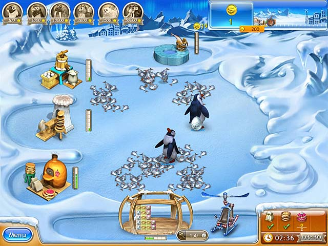 Spel Screenshot 2 Farm Frenzy 3: Ice Age