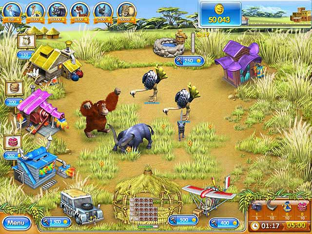 Spel Screenshot 3 Farm Frenzy 3: Madagascar