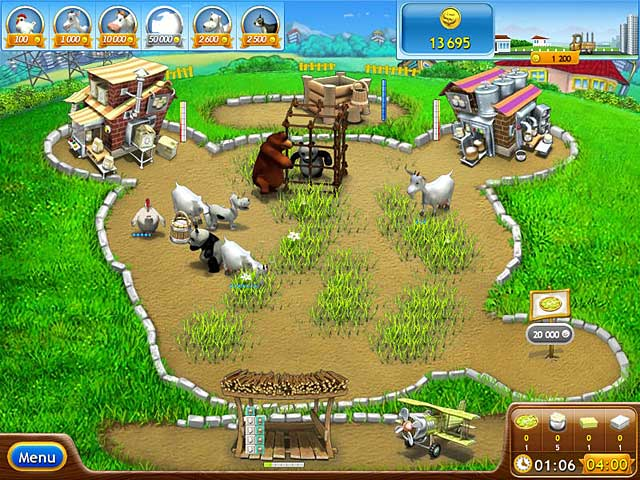 Spel Screenshot 1 Farm Frenzy Pizza Party