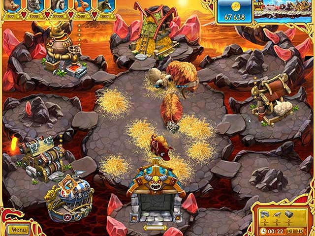 Spel Screenshot 1 Farm Frenzy: Viking Heroes