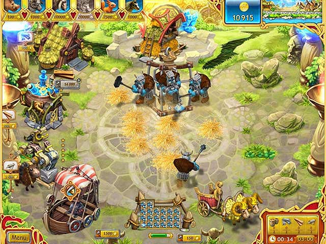 Spel Screenshot 2 Farm Frenzy: Viking Heroes