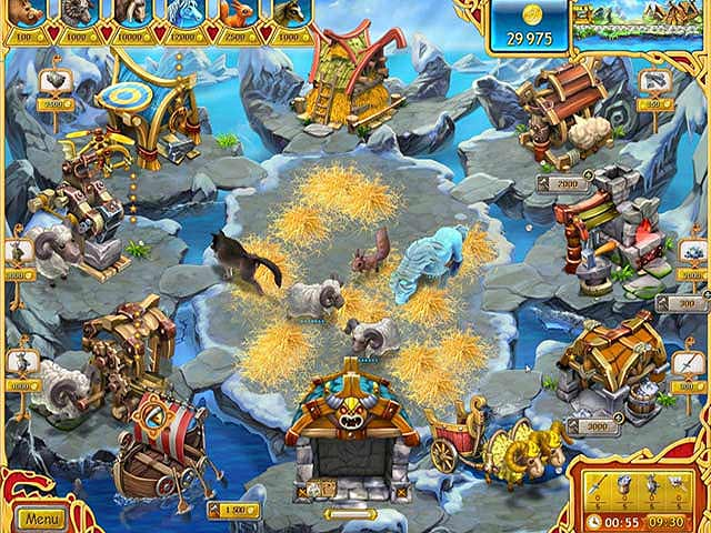 Spel Screenshot 3 Farm Frenzy: Viking Heroes