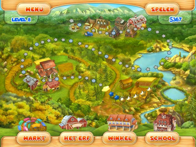 Spel Screenshot 2 Farm Mania 2