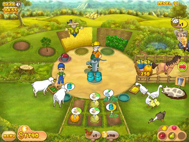 Spel Screenshot 3 Farm Mania 2