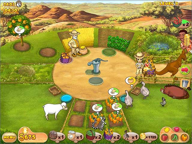 Spel Screenshot 2 Farm Mania: Hot Vacation