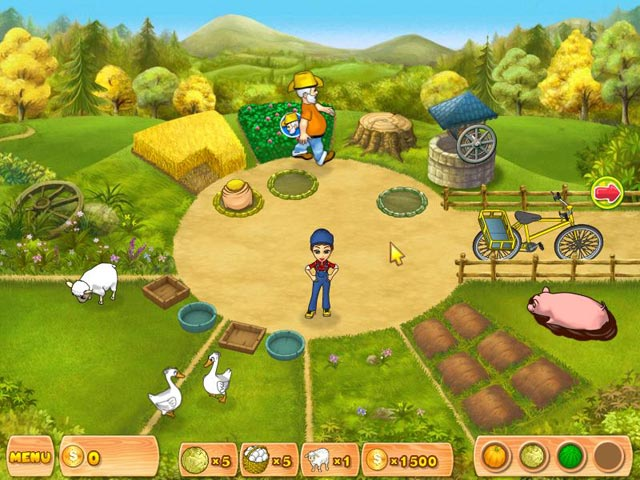 Spel Screenshot 1 Farm Mania