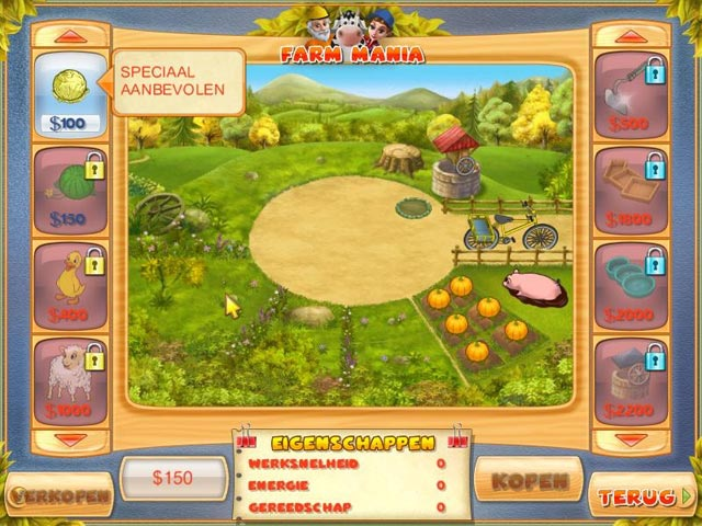 Spel Screenshot 2 Farm Mania