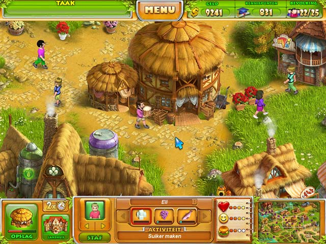 Spel Screenshot 1 Farm Tribe 2
