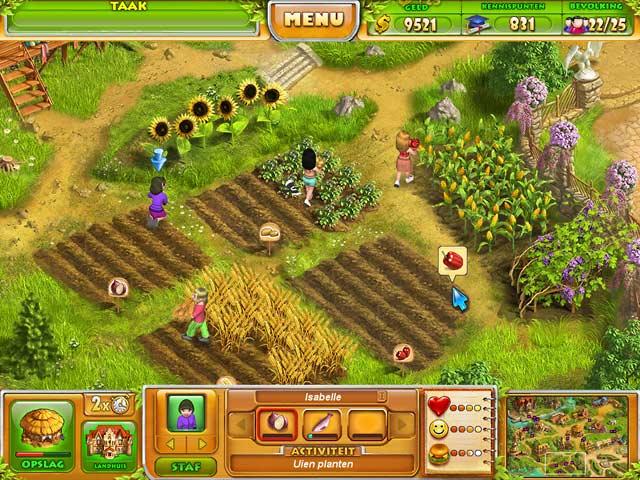 Spel Screenshot 3 Farm Tribe 2