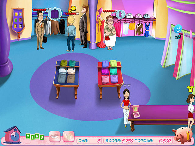 Spel Screenshot 1 Fashion Boutique