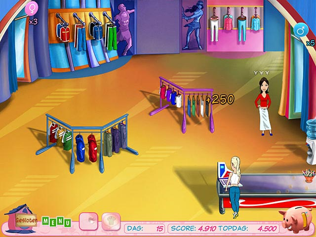 Spel Screenshot 3 Fashion Boutique