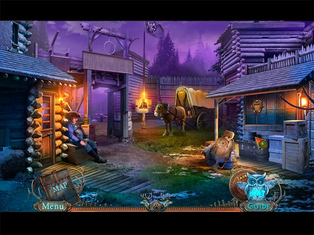 Spel Screenshot 2 Fierce Tales: Feline Sight Collector's Edition