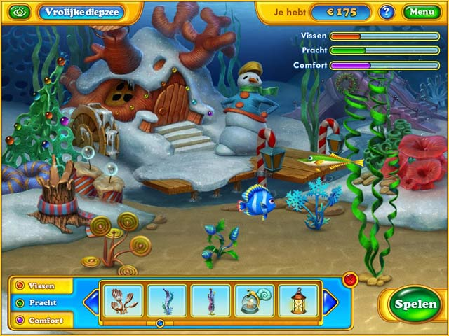 Spel Screenshot 2 Fishdom: Frosty Splash