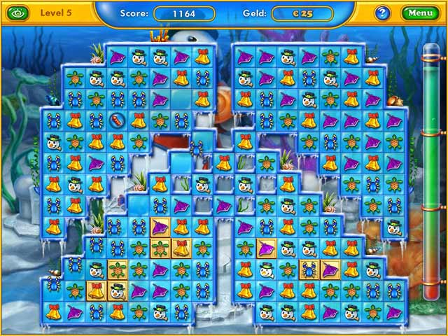 Spel Screenshot 3 Fishdom: Frosty Splash