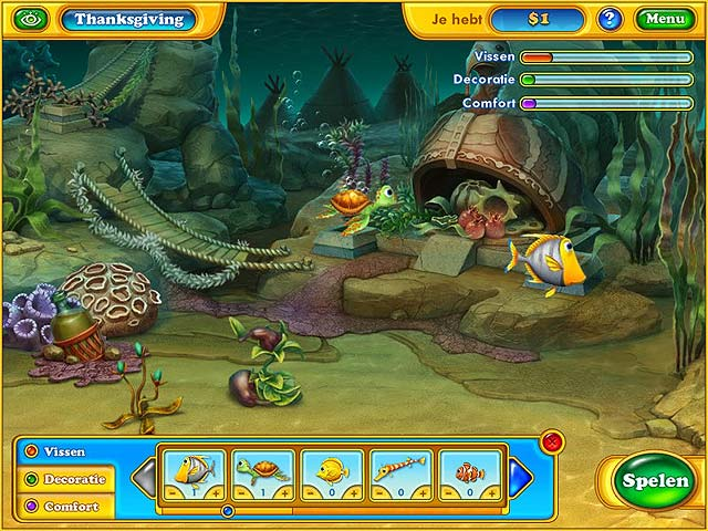 Spel Screenshot 2 Fishdom: Seasons Under the Sea