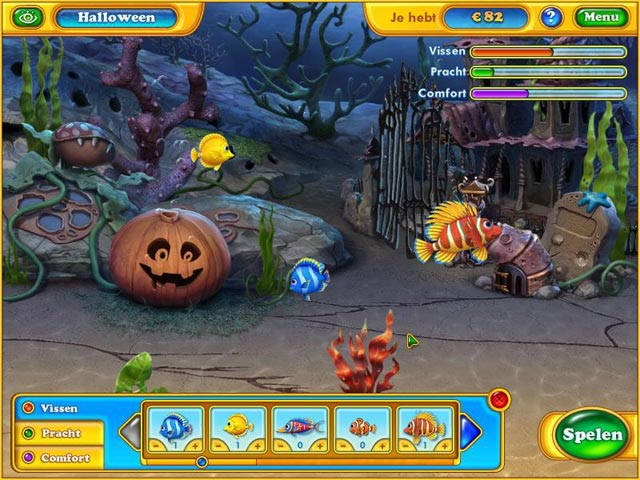 Spel Screenshot 2 Fishdom - Spooky Splash