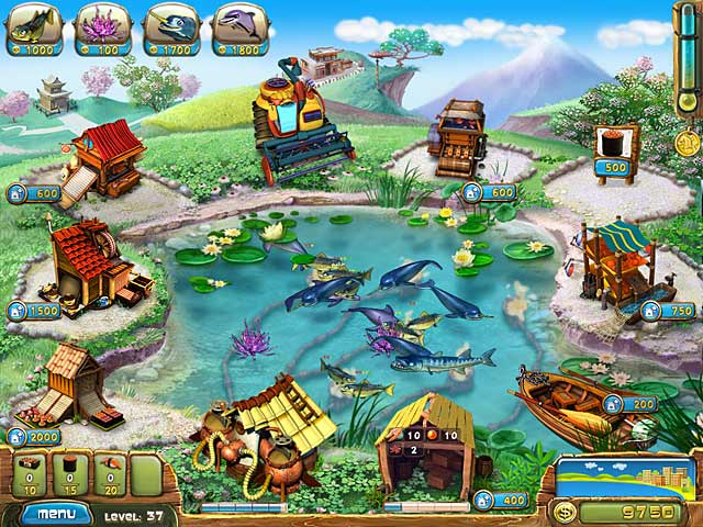 Spel Screenshot 1 Fisher's Family Farm
