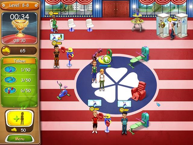 Spel Screenshot 1 Fitness Bustle: Oppepper