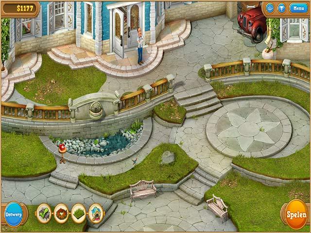Spel Screenshot 2 Gardenscapes 2