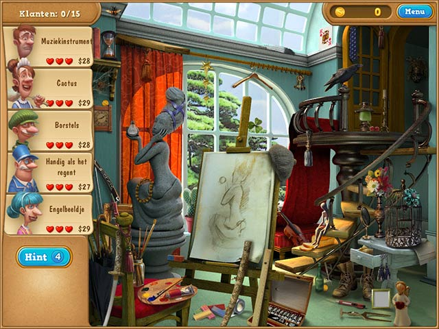 Spel Screenshot 3 Gardenscapes 2