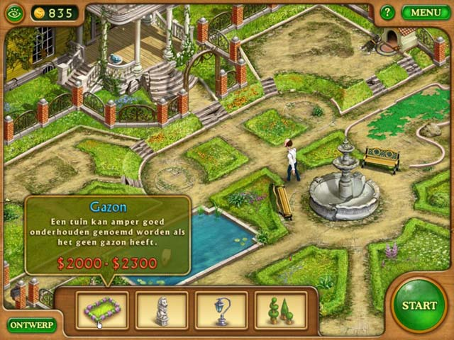Spel Screenshot 3 Gardenscapes