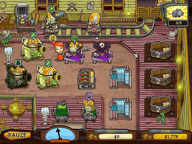 Spel Screenshot 1 Grave Mania: Zombievirus