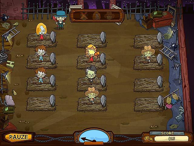 Spel Screenshot 2 Grave Mania: Zombievirus