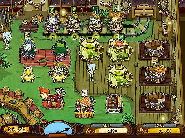 Spel Screenshot 3 Grave Mania: Zombievirus