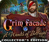 Feature Screenshot Spel Grim Facade: A Wealth of Betrayal Collector's Edition