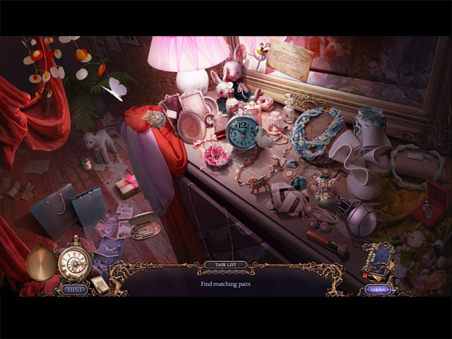 Spel Screenshot 1 Grim Tales: Color of Fright Collector's Edition