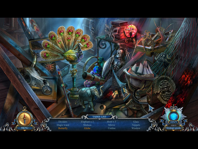 Spel Screenshot 1 Haunted Hotel: Eclipse Collector's Edition