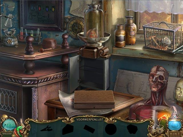 Spel Screenshot 2 Haunted Legends: De Doodgraver Luxe Editie