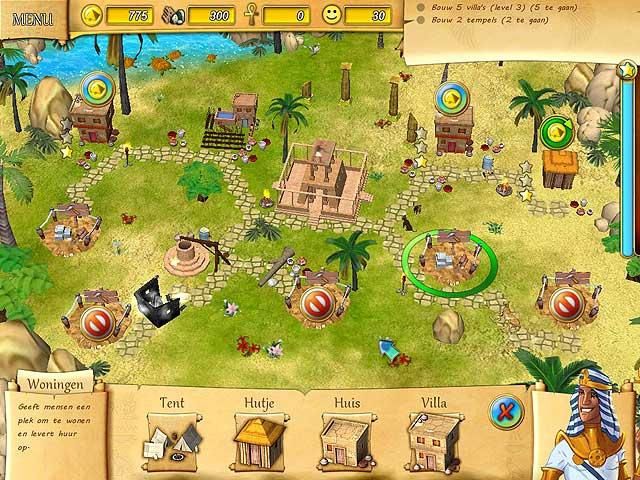 Spel Screenshot 1 Het Lot van de Farao