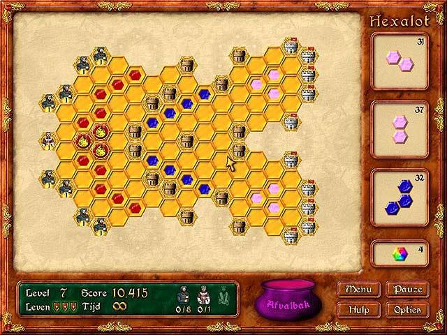 Spel Screenshot 1 Hexalot