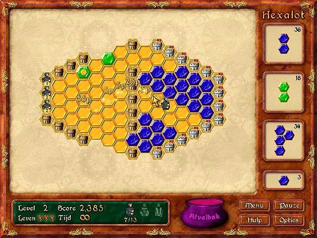 Spel Screenshot 2 Hexalot