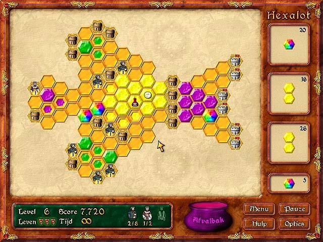 Spel Screenshot 3 Hexalot