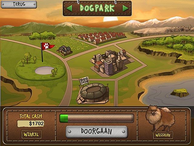 Spel Screenshot 2 Hondenshow Solitaire