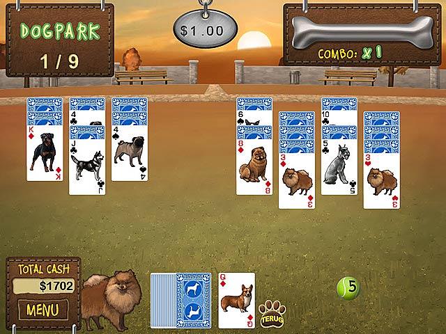 Spel Screenshot 3 Hondenshow Solitaire